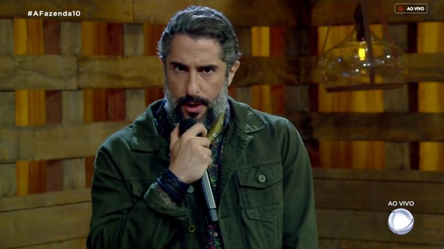 """Marcos Mion, apresentador de """"A Fazenda 10"""" - Reprodução/RecordTV"""