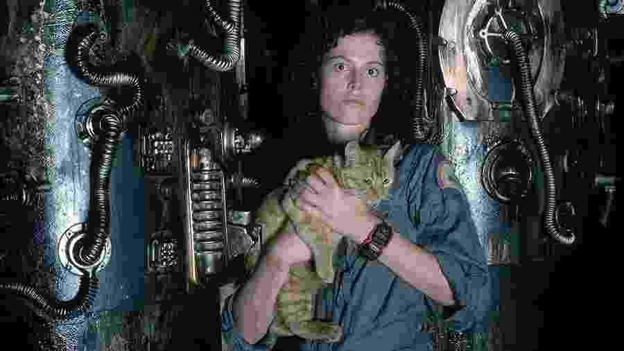 """Sigourney Weaver em """"Alien - O 8.º Passageiro"""" (1979) - Divulgação"""