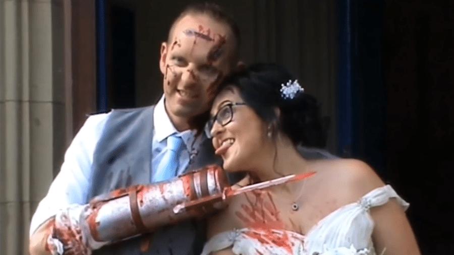 O casal Chris e Annabell Hayden - Reprodução/YouTube