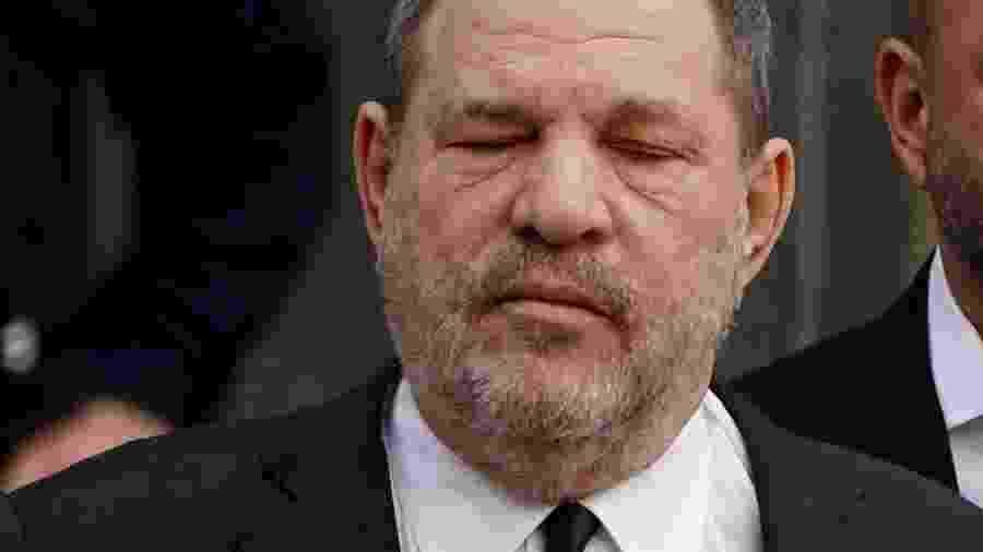 O produtor Harvey Weinstein deixa o tribunal em Nova York - Carlo Allegri/Reuters