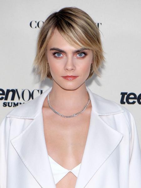 """Modelo e atriz Cara Delenvigne se diz """"indignada"""" com as acusações contra o cantor - Sarah Morris/Getty Images"""
