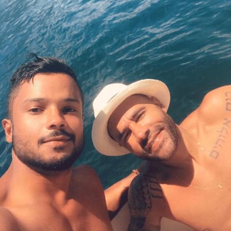 """JR Figueiredo e Rodrigo Sant""""Anna - Reprodução/Instagram"""