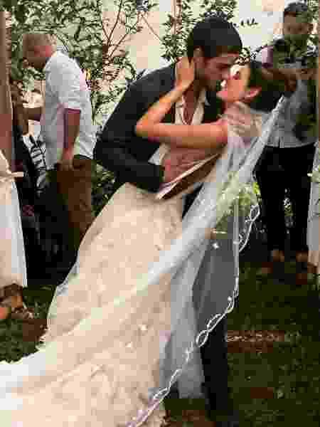 Chay Suede e Laura Neiva se casam - Reprodução/Instagram