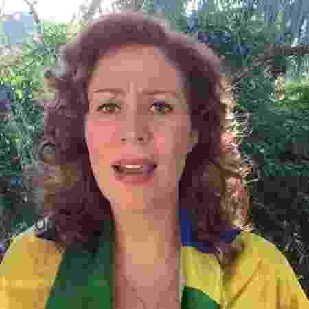 Carla Zambelli passa bem e retornará às atividades após o término de 15 dias de recuperação - Reprodução/Facebook