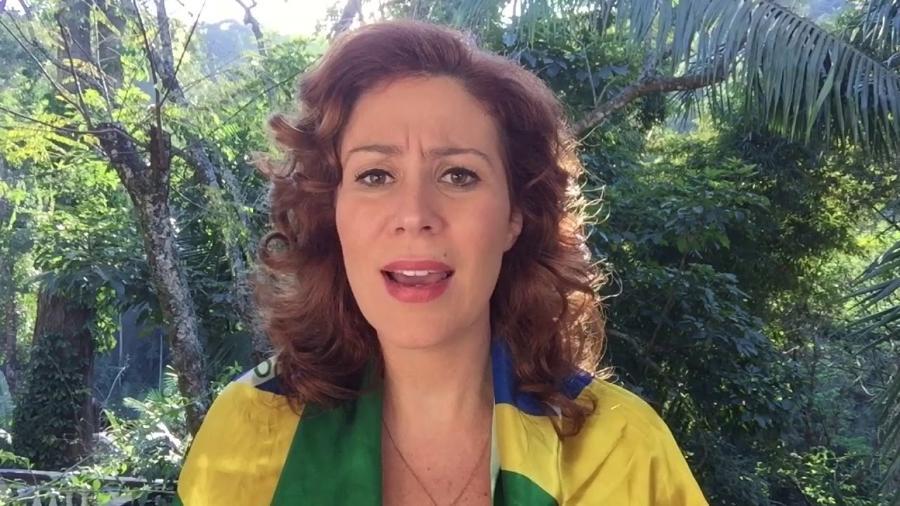 Carla Zambelli (PSL-SP) citou que perseguição política pode estar sendo exercida pelo governador de SP, João Doria (PSDB) - Reprodução/Facebook