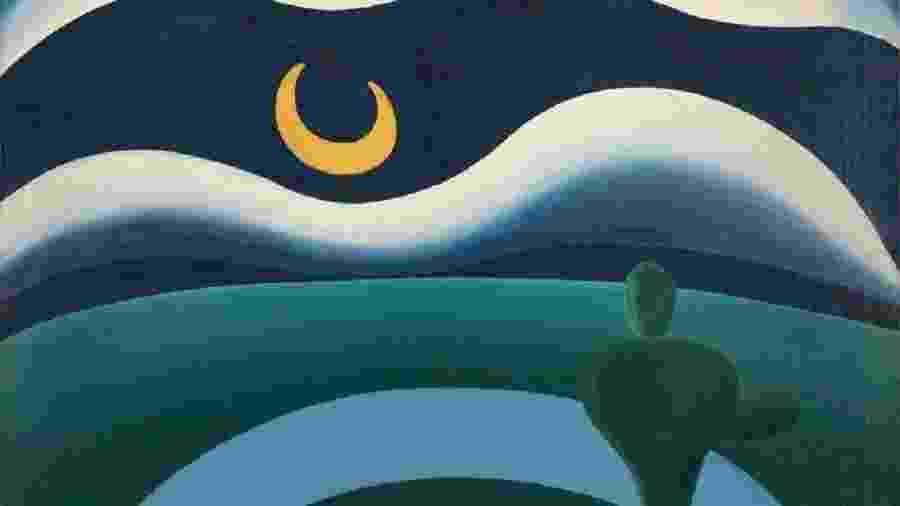 """Detalhe de """"A Lua"""", adquirida pelo Museu de Arte Moderna de NY - Divulgação/MoMA"""