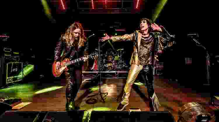 Adam Slack e Luke Spiller, do grupo The Struts - Sergione Infuso/Corbis via Getty Images - Sergione Infuso/Corbis via Getty Images
