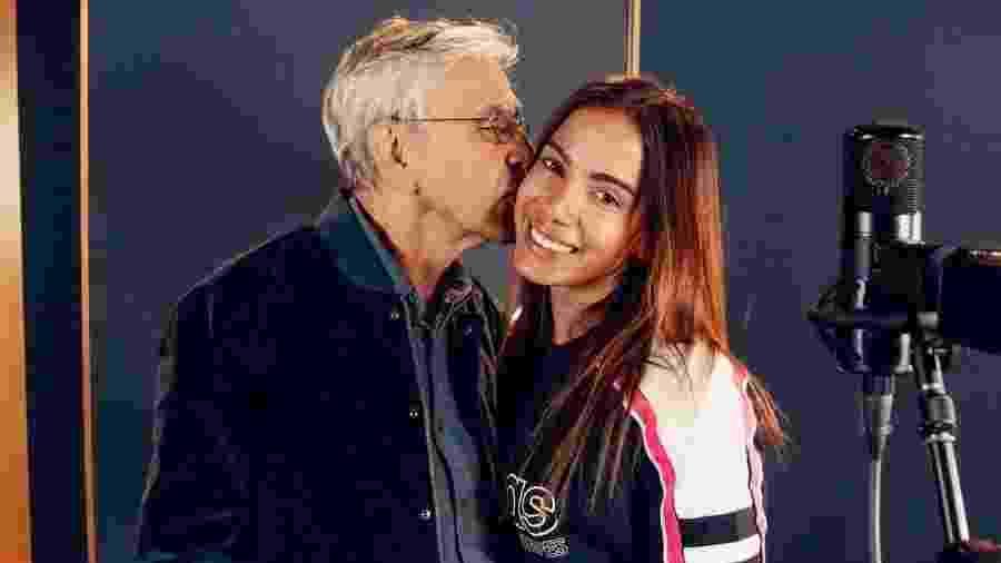 """Anitta faz parceria com Caetano Veloso em """"Você Mentiu"""" - Divulgação"""