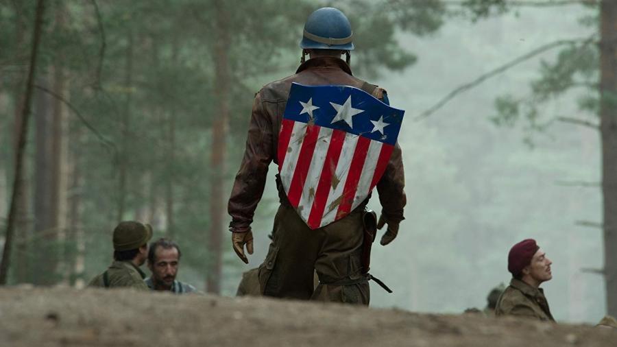"""Chris Evans em """"Capitão América: O Primeiro Vingador"""" - Divulgação"""