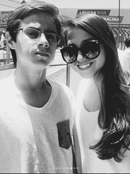 Rafael Miguel e a irmã, Camilla - Reprodução/Instagram