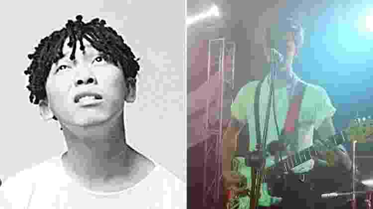 O guitarrista Bento será interpretado pelo sobrinho, Alberto Hinoto - Reprodução Arte/UOL - Reprodução Arte/UOL