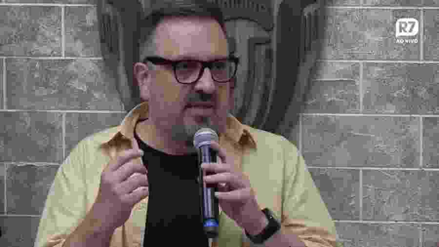 Rodrigo Carelli, diretor de reality shows da Record - Reprodução/YouTube/A Fazenda