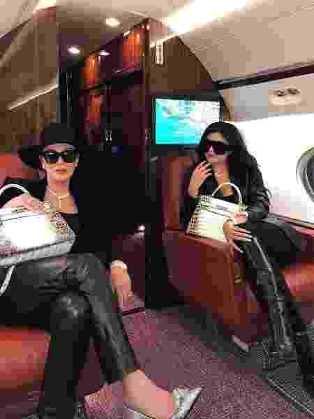 Kris e Kylie Jenner - Reprodução/Instagram