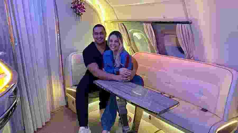 Xandy e Carla Perez comemoram aniversário de casamento em viagem luxuosa - Reprodução/Instagram