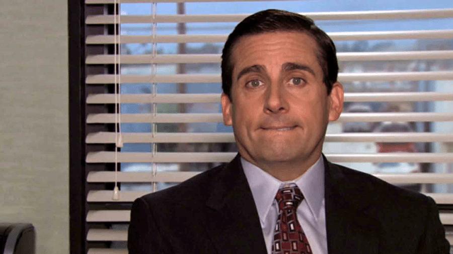 Steve Carrell em cena de The Office - Reprodução