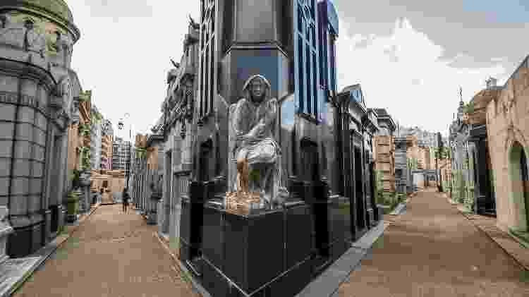 O Cementerio de la Recoleta preserva os túmulos de famosos como Evita e o prêmio Nobel Luis Federico Leloir - Ente de Turismo de la Ciudad de Buenos Aires/Divulgação