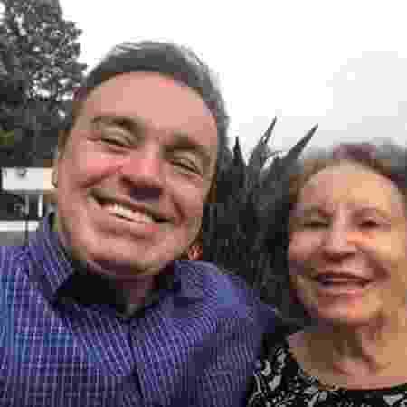 Gugu Liberato e a mãe, Maria do Céu de Moraes - Reprodução/ Instagram