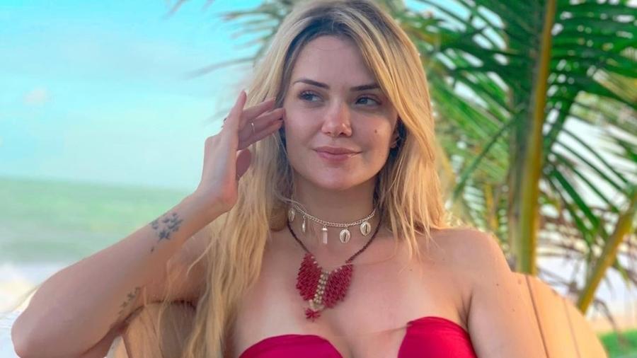 Marcela também namorou um famoso jogador de futebol; ela terminou um relacionamento de dez meses para participar do reality - Reprodução/Instagram