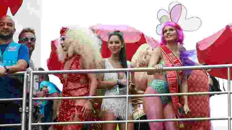 Letícia Lima no trio de Preta Gil - Marcos Ferreira/Brazil News