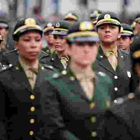 Desfile do Sete de Setembro no Rio de Janeiro: número de mulheres militares deve aumentar se aprovado projeto - Fernando Frazão/Agência Brasil