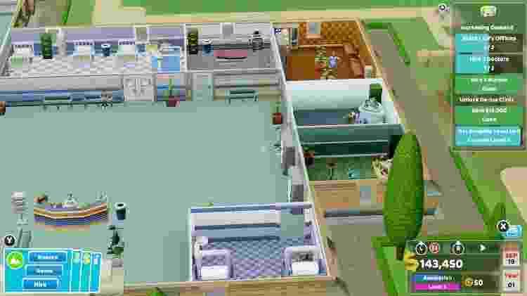 Two Point Hospital Review 3 - Reprodução - Reprodução