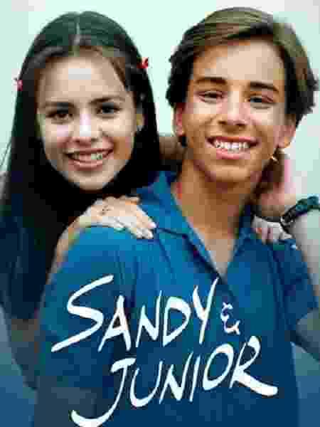 O seriado 'Sandy & Junior' está disponível na Globoplay - Divulgação