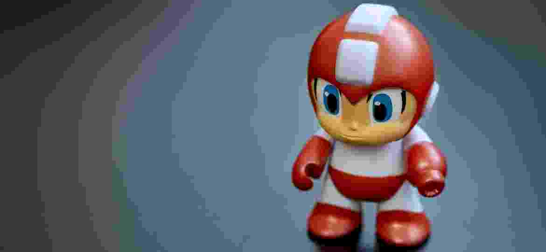 Megaman vermelho Toy Action Figure - Ozgur Guvenc/Özgür Güvenç - stock.adobe.com
