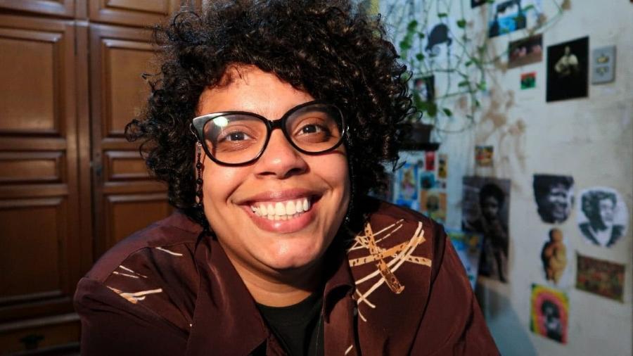 """A pesquisadora Ana Claudino, do perfil """"Sapatão Amiga"""" - Reprodução"""