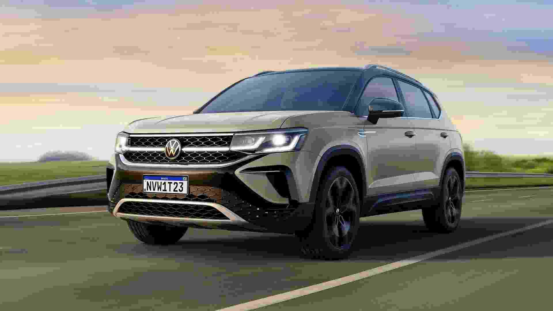 VW Taos - Divulgação