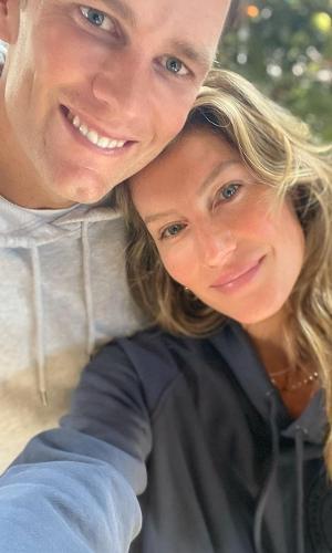 Gisele Bündchen e o marido, Tom Brady