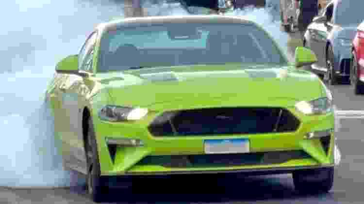 Arrancada Mustang Razuk - Reprodução - Reprodução