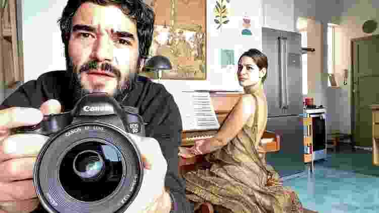 Luísa Arraes e Caio Blat são vizinhos - Reprodução YouTube - Reprodução YouTube