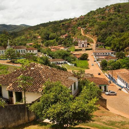 A cidade de Serro, em Minas Gerais - Getty Images/iStockphoto