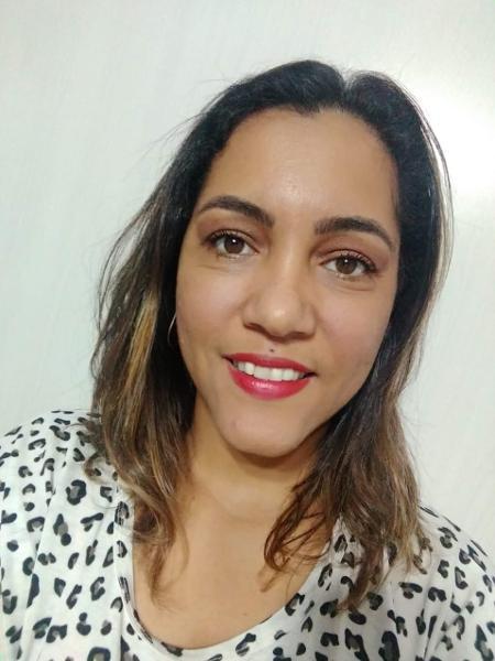 Luciana dos Santos levou três tiros do marido e fala sobre violência doméstica em igreja - Arquivo pessoal