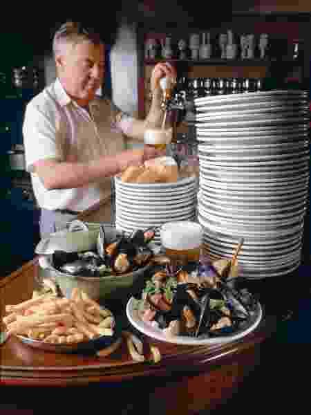 Culinária belga é baseada em frutos do mar e, claro, cerveja - Alain RIVIERE-LECOEUR/Gamma-Rapho via Getty Images - Alain RIVIERE-LECOEUR/Gamma-Rapho via Getty Images