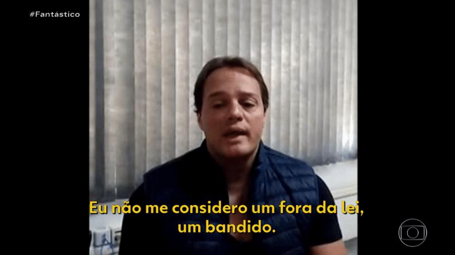 Operação Harém prende Rodrigo Cotait - Reprodução/Globo