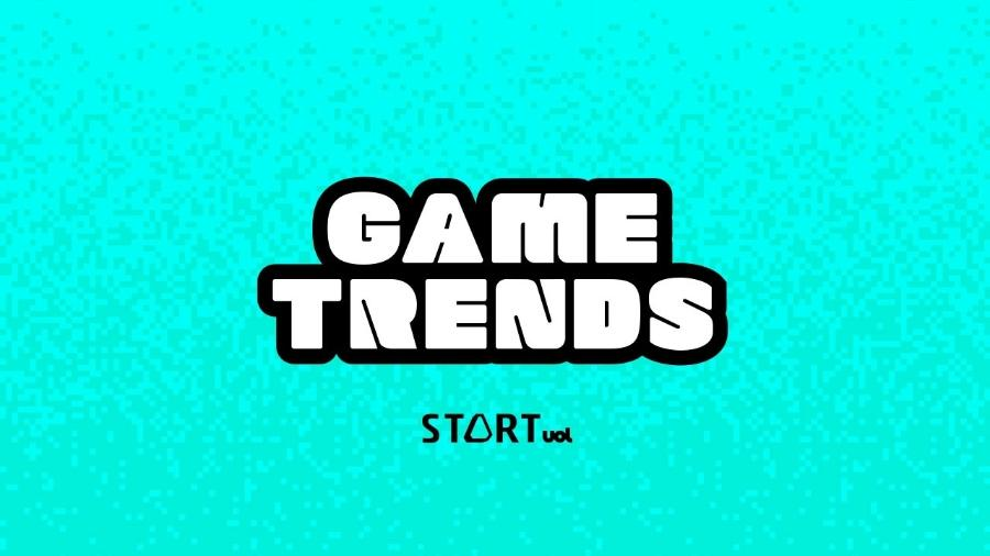 logo podcast Game Trends  - Arte/UOL