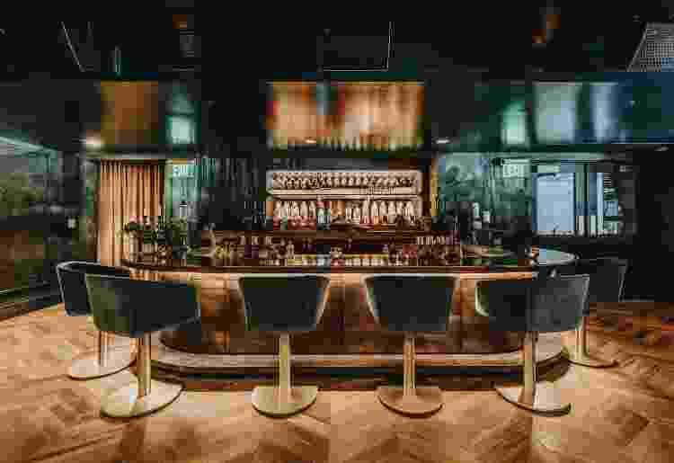 Bar e restaurante Justin Timberlake em Nashville (2) - Reprodução/Architectural Digest - Reprodução/Architectural Digest