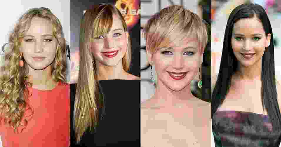 Jennifer Lawrence - Reprodução/MontagemUOL