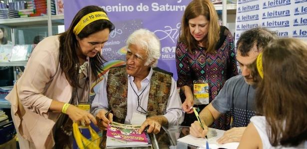 O escritor Ziraldo foi um dos finalistas na nova categoria Infantil Digital - Light Press/Divulgação