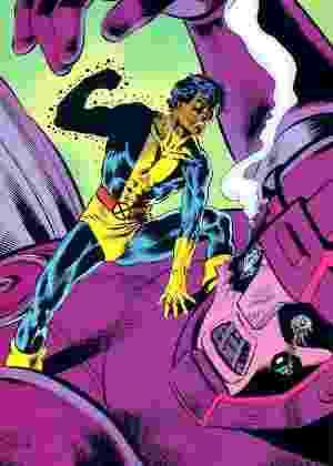Mancha Solar, o personagem brasileiro dos quadrinhos da Marvel - Reprodução