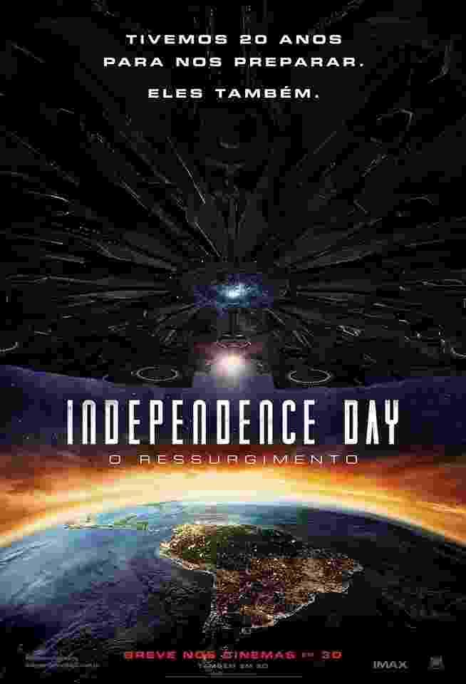 """Pôster do filme """"Independence Day - O Ressurgimento"""" - Divulgação"""