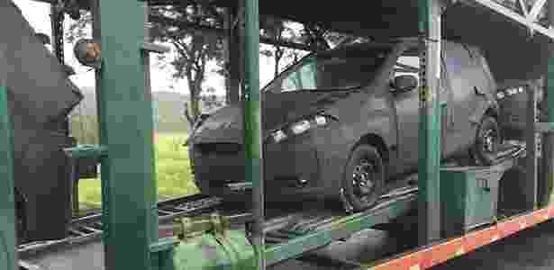 Flagra do Fiat X6H, o substituto de Palio e Punto - Marlos Ney Vidal/Autossegredos - Marlos Ney Vidal/Autossegredos