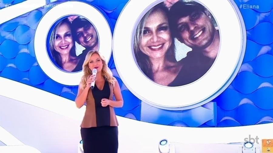 Aos 43 anos, Eliana anunciou em seu programa no último, 2 de abril, que está grávida - Reprodução/SBT