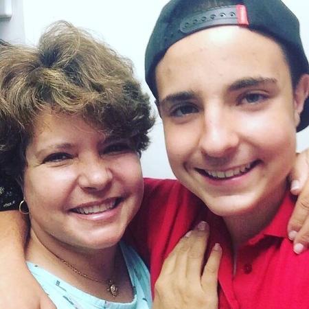 Filho de Gugu, João Augusto publica foto ao lado da mãe, Rose Miriam - Reprodução/Instagram/chefdofuturojoaoaugusto