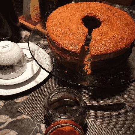 Padre Fabio de Melo publica receita de bolo em seu Instagram - Reprodução/Instagram