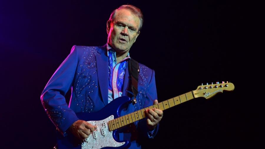 O cantor Glen Campbell - Getty Images