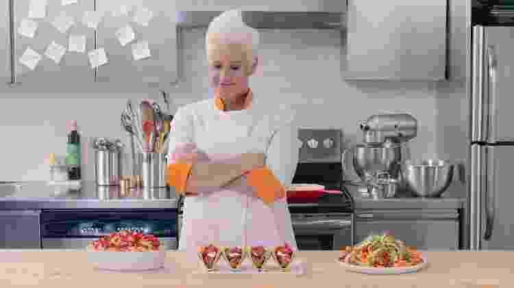A chef Anne Burrell prepara pratos feitos com Cheetos para restaurante temático em Nova York - Divulgação - Divulgação