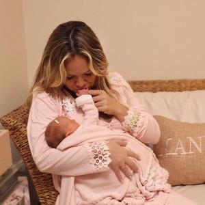 Eliana com a filha