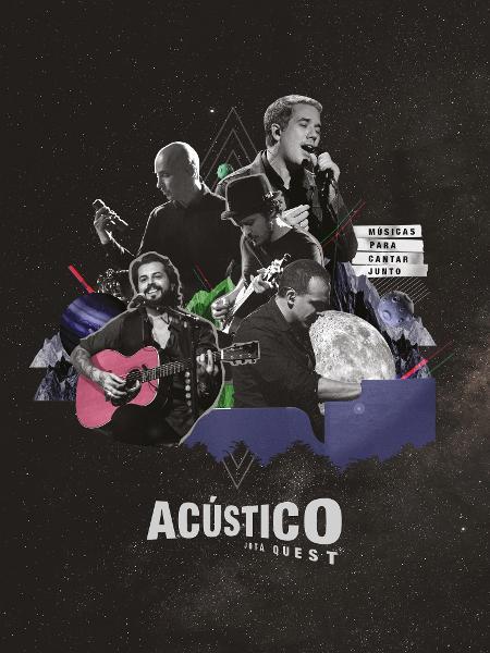 Capa do primeiro DVD Acústico do Jota Quest - Divulgação